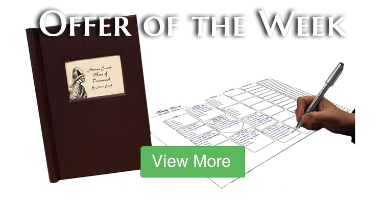 FREE A3 Seven-Generation Pedigree Fold Out Chart with all Springback Binders!