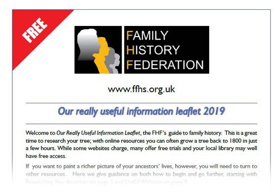 FFHS Really Useful Information Leaflet