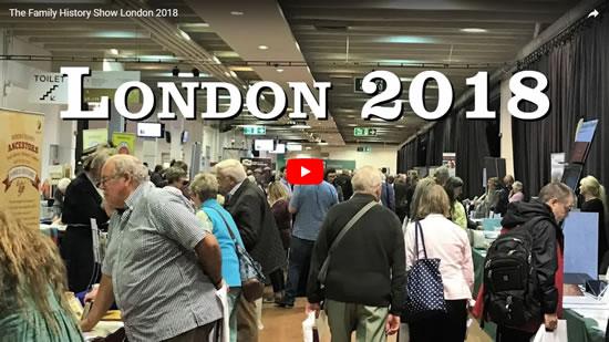 The Family History Show London 2018