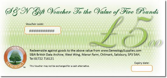 Spend £50 & Get a FREE £5 Voucher