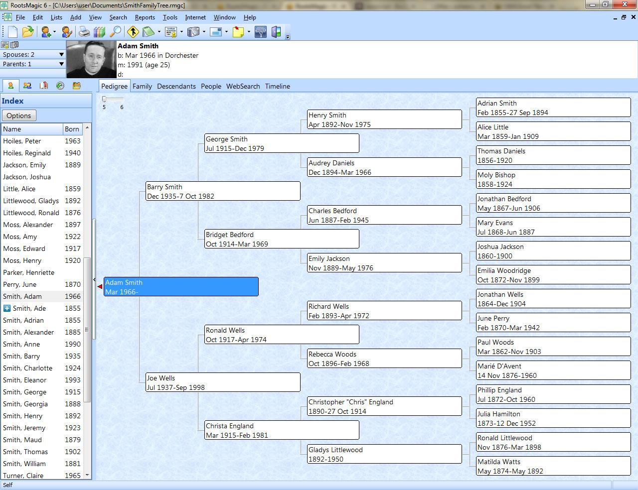 RootsMagic UK Version 7 - S&N Genealogy Supplies