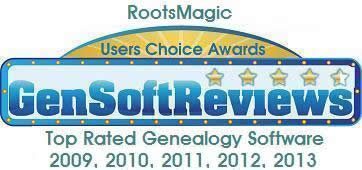 2013 About.com Genealogy Readers' Choice Awards