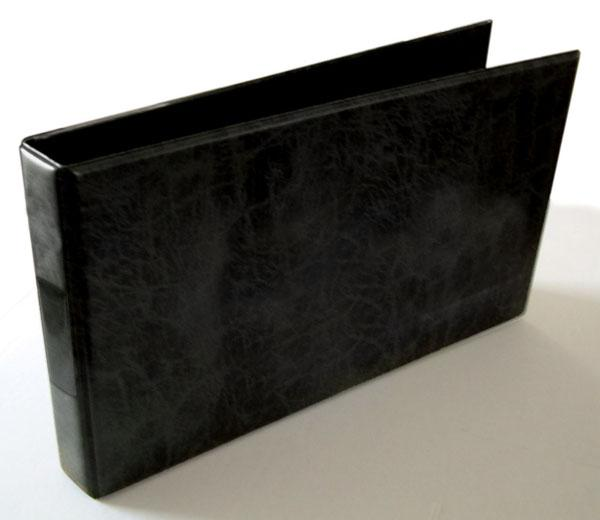 A4 Black Landscape Binder