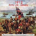 Army List 1912 - January