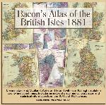 Bacon's Atlas of the British Isles 1881