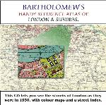 Bartholomew's Handy Reference Atlas of London & Suburbs 1930 on CD