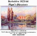 Berkshire 1823 and 1844 Pigot's Trade Directory
