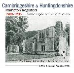 Cambridgeshire & Huntingdonshire, Rampton Registers 1599-1812