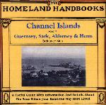 Channel Islands, The Homeland Handbooks -  Part 1 Guernsey, Sark, Alderney & Herm - Ordnance Map for 1933 (approx)