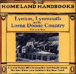 Devon, The Homeland Handbooks - Lynton, Lynmouth and the Lorna Doone Country - Ordnance Map c1900