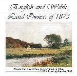 English and Welsh Landowners of 1873