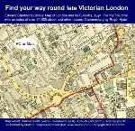Find your way round Late Victorian London - Map CD