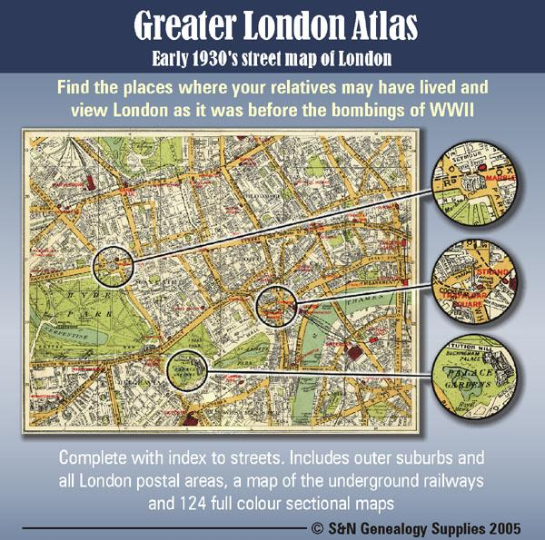 Map Of Greater London Area.Greater London Atlas Map Cd