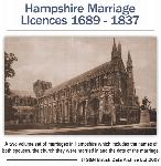 Hampshire Marriage Licences 1689-1837