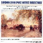 London 1880 - Kelly's Post Office Directory