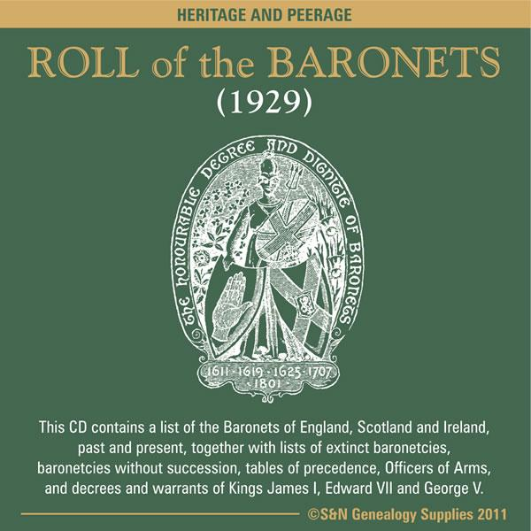 Roll of the Baronets (1929)