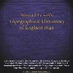Samuel Lewis's Topographical Dictionary of England 1849
