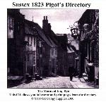 Sussex 1823 Pigot's Directory