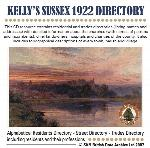 Sussex, Kelly's Sussex 1922 Directory