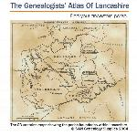 The Genealogists' Atlas Of Lancashire Circa. 1930