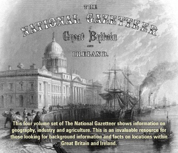 The National Gazetteer of Great Britain and Ireland for 1868