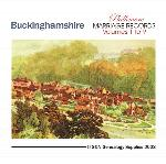 Buckinghamshire Phillimore Parish Records (Marriages) Volumes 01 to 09 on one CD