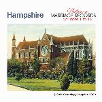 Hampshire Phillimore Parish Records (Marriages) Volumes 01 to 16 on one CD