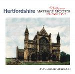 Hertfordshire Phillimore Parish Records (Marriages) - Volumes 01 to 03 on one CD
