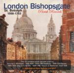 London, Bishopsgate St Botolph Parish Registers 1558-1753