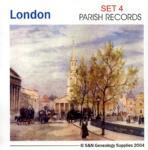 London Registers Set 4 - 12 Volumes