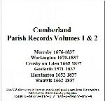 Cumberland Phillimore Parish Records (Marriages) - Volumes 01 & 02 on one CD