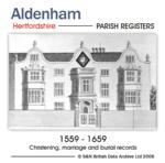 Hertfordshire, Aldenham Parish Registers 1559-1659