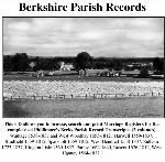 Berkshire Phillimore Parish Records (Marriages) Volumes 01 & 02 on one CD