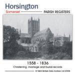 Somerset, The Parish Register of Horsington 1558-1836