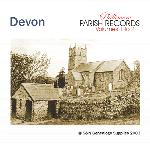Devonshire Phillimore Parish Records (Marriages) Volumes 01 & 02 on one CD
