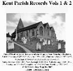 Kent Phillimore Parish Records (Marriages) Volumes 01 and 02 on one CD
