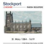 Cheshire, Stockport Parish Registers 1584 - 1619