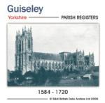 Yorkshire, Guiseley Parish Registers 1584-1720