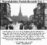 Warwickshire Phillimore Parish Records (Marriages) Volumes 01 to 03 on one CD