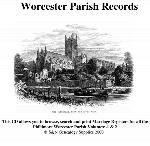 Worcestershire Phillimore Parish Records (Marriages) Volumes 01 and 02 on one CD