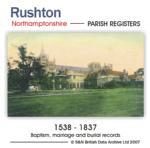 Northamptonshire, Rushton Parish Records 1538-1837