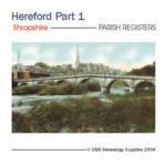 Shropshire - Hereford Parish Registers Part 1