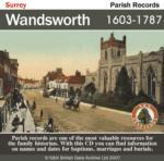 Surrey, Wandsworth Parish Registers 1603-1787