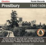 Cheshire, Prestbury Parish Registers 1560-1636