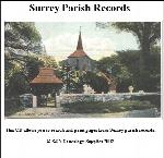 Surrey Parish Records  Volume 08 - Coulsdon and Haslemere 1594 - 1772