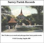Surrey Parish Records  Volume 14 & 15 Caterham 1543 - 1837