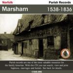 Norfolk, Marsham Parish Records 1538-1836